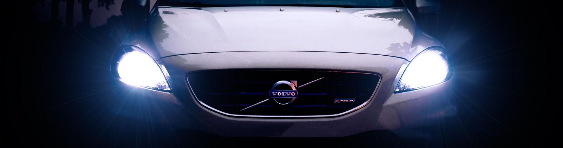 Volvo koplampen breed
